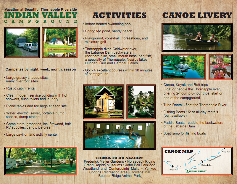 Indian Valley Brochure